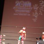 ツバサ選手20周年記念試合
