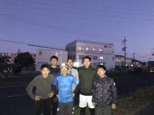 早朝マラソン①