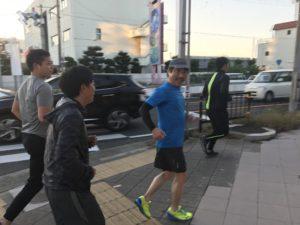 早朝マラソン③